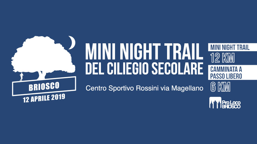 Mini Night Trail del Ciliegio Secolare 2019